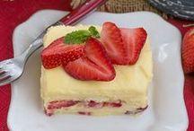 Dessert Recipes / Pastries, fudge, candy, custards, fritters, dumplings, fruit desserts, etc.
