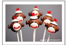 Sock Monkey Birthday Party Ideas / Inspiration for a Sock Monkey-themed birthday party