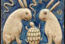 Mosaics & Tiles / by Ruth Brusuelas