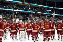 Ferris State Hockey / The years Travis attended 2009-2010 to 2012-2013 / by Nancy Ouellette