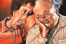 Caricatures/Illusions/Faces / by Ruth Brusuelas