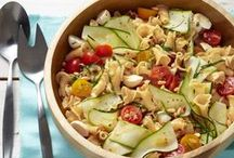 Pasta Recipes / Main dishes consisting primarily of pasta (vegetarian or meat-inclusive)
