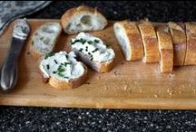 """Cheese Recipes / Cheese board """"how-to's,"""" educational information about cheese, plus sweet and savory recipes with cheese as the primary ingredient"""