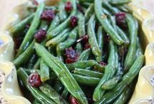 Side Dishes / All kinds of side dishes, both veggie and starchy