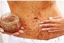 Beauty stuff / #beauty #diy #homemade #creme #moisturizing #scrub #methods