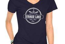 Sebago Lake, Maine / Living the life on Maine's second largest Lake - Sebago Lake.  Lake living decor, things to do and Sebago lake fun.  #sebagolake