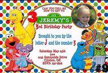 Sesame Street Birthday Party Ideas / Inspiration for a Sesame Street-themed birthday party