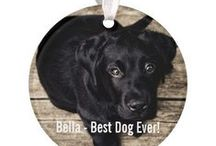 christmas ornaments / Personalized Christmas Ornaments