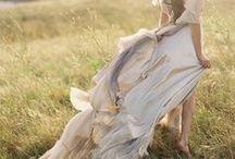organic boho bride