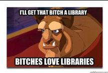 Bitches Love Libraries / Library porn