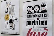 2014 - Detto_Typo / I ragazzi dell'Istituto Pavoniano Artigianelli hanno realizzato i manifesti grafici dei detti popolari e dialettali del territorio. Con freschezza e creatività hanno interpretato i modi di dire e le espressioni comuni che caratterizzano Carugate.