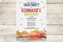 Dragons Love Tacos Birthday Party