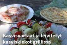 Reseptit - Grillissä / Maukkaita ja herkullisia reseptejä grillaukseen.
