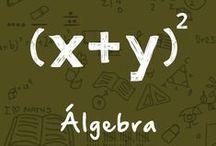 Álgebra / En este tablero encontrarás todo lo relacionado con Álgebra, también puedes acceder a nuestro sitio web http://vitual.lat/algebra/