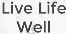 Live Life Well / Live Life Well Link Up.  This is a collection of resources to encourage you for the journey.  If you are a reader, I hope you find great value and blessings here.  If you are a blogger looking to link up in a place of encouragement for women wanting to Live Life Well, find out how at http://www.overwhelmedtofulfilled.com