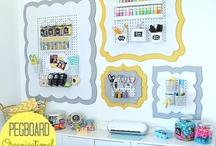 Craft Room Ideas / by Ana Burton