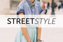 Street Style from Around the World / A collection of the most inspirational and fabulous street style photos from around the world. Click through on the photos to shop the looks!  / by StyleSays