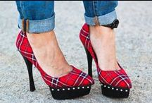 - Pumps - / - I have a serious obsession and love for heels! I practically sleep in them. :) -