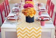 Table decor / by Sandra Garcia