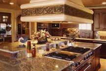 Kitchens. . . the heart of the home! / Love BIG COZY Kitchens! / by Julie !