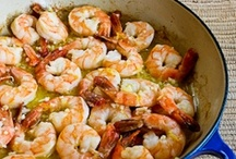 Recipes~Seafood and such / Love Shrimp and some types of fish! / by Julie