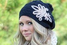 - Hats - / - Love cute little beanies in the Winter. -