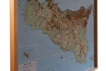 Raised Relief Maps / 3D Maps, Relief Maps, Georeferenced Maps, Hiking 3d maps,