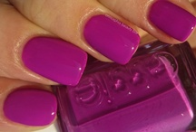 - Nails - / - I love bright neons & pretty pastels. -