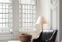mouldings and windows
