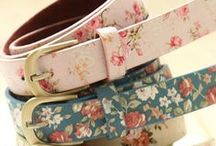 - Belts - / - Skinny belts with bows :) -