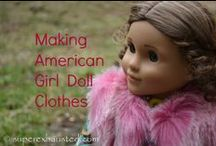 Doll Clothing / by Sarah M Schultz Designs | Busybee's Creation