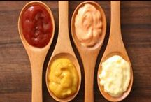 - Condiments - / - Tasty compliments. -