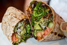 - Wraps - / - My go-to lunch option when I want something lighter and healthier. -