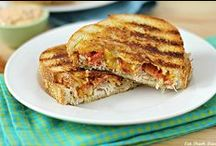 - Paninis - / - I love making a new loaded panini recipe. I need to add a section for it in my cookbook I'm making! -
