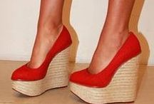 - Wedges - / - I'd much rather wear a regular pair of heels, I walk much better in them. But I certainly wouldn't pass up a cute pair of wedges. -
