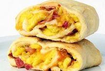 - Breakfast Wraps - / - Quesadillas, Burritos, Tacos, Crêpes, & Wraps... all kinds of breakfast goodies! -