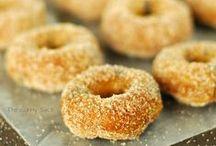 - Donuts - / - Glazed donuts are my favorite! Krispy Kreme is the devil! -