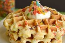 - Waffles - / - I need to make waffles more often! Good thing I've got plenty of recipes to choose from. -