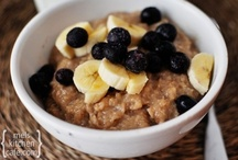- Oatmeal, Granola, & Cereal - / - Oatmeal reminds me of being a kid and I don't think anyone ever outgrows cereal! -