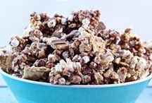 - Popcorn - / - The classic popcorn recipe all dressed up in many different ways. Enjoy! -