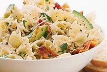 - Pasta Salad - / - The perfect option for a Summer potluck. Easy & fast! -