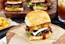 - Sliders - / - Mini versions of your favorite sandwiches. Great for a party. -
