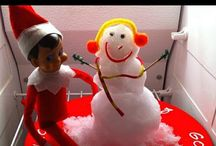 Holiday==>Elf on a shelf