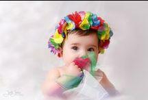 Reportajes de niños / Reportajes fotográficos de niños, prebautizos, bautizos, Comuniones, etc