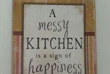 Kitchen Ideas / by Ebony Colbert