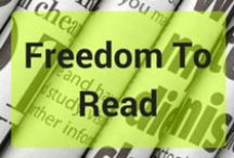 Freedom To Read Week / Inspiration and information about Canada's Freedom To Read week! http://www.stratford.library.on.ca/FreedomToRead