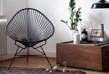 TENDANCE BOHÈME-CHIC / Une décoration naturelle. Habillez votre intérieur de meubles en Rotin et Kubu. Leurs fibres naturelles et leurs teintes douces réchaufferons votre salon, chambre ou bureau !
