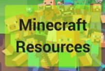 Minecraft Resources / Minecraft themed resources to enjoy at a variety of ages.