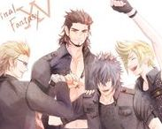 Final Fantasy XV / Dudes being bros