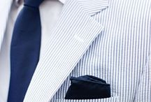 Groom and Groomsmen Style / Style and attire ideas for grooms and groomsmen